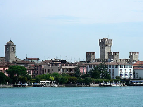 Sirmione: View from ferry